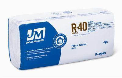 Johns Manville R40 Batt Insulation