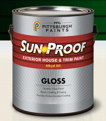 Pittsburgh Paints Sun-Proof® Oil Exterior
