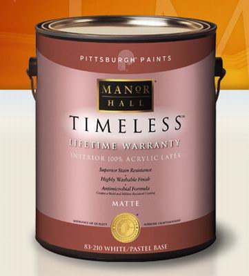 Pittsburgh Paints Manor Hall® Timeless® Low VOC